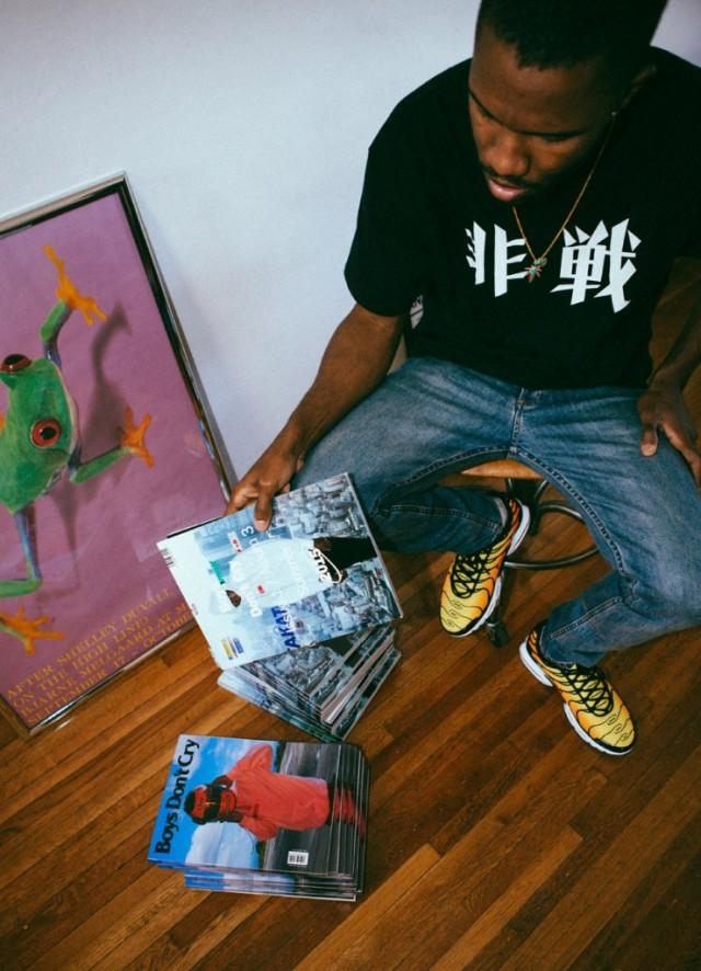 "Frank Ocean Announces New Album ""Boys Dont Cry"""